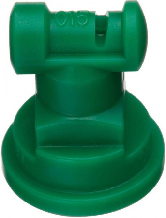 Turbo TeeJet Racing Green Acetal Polymer Wide Angle Flat Spray Tip Nozzle