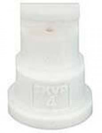 FloodJet White Acetal Polymer Wide Angle Flat Spray Tip Nozzle