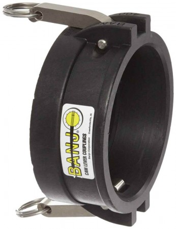"""Cam Action Cap Fitting - 1 1/2"""" Male Adapter"""