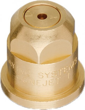 ConeJet Brass VisiFlo Hollow Cone Spray Tip Nozzle