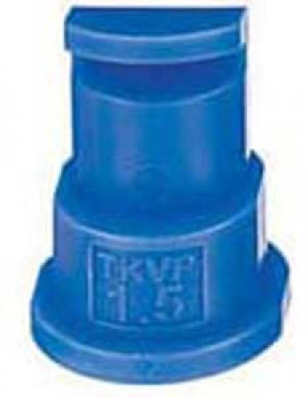 FloodJet Blue Acetal Polymer Wide Angle Flat Spray Tip Nozzle
