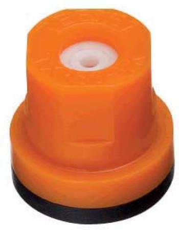TXR ConeJet Orange Acetal-Ceramic Hollow Cone Spray Tip Nozzle