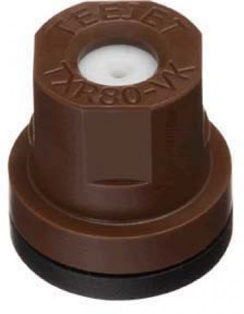 TXR ConeJet Brown Acetal-Ceramic Hollow Cone Spray Tip Nozzle