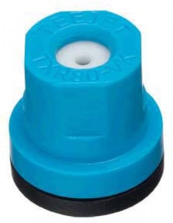 TXR ConeJet Light Blue Acetal-Ceramic Hollow Cone Spray Tip Nozzle