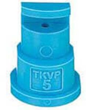 FloodJet Light Blue Acetal Polymer Wide Angle Flat Spray Tip Nozzle