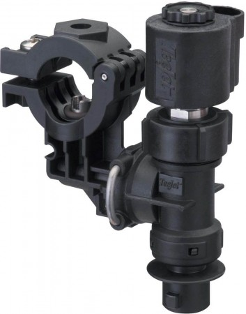 """1/2"""" Pipe 1 Outlet Stackable Nozzle Body Assembly for Wet Applications"""