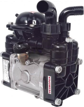 "Diaphragm Pump with 1-1/4"" HB Inlet x 1"" HB Outlet"