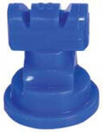 Turbo TwinJet Blue Acetal Polymer with cap/gasket Twin Flat Spray Tip Nozzle