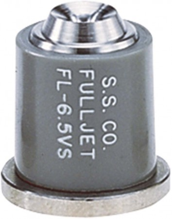 FullJet Grey Acetal-Stainless Steel Wide Angle Full Cone Spray Tip Nozzle