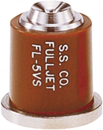 FullJet Brown Acetal-Stainless Steel with Celcon Wide Angle Full Cone Spray Tip Nozzle