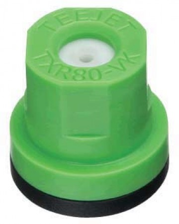 TXR ConeJet Light Green Acetal-Ceramic Hollow Cone Spray Tip Nozzle