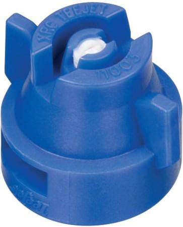 XRC TeeJet Blue Acetal-Ceramic Extended Range Flat Spray Tip Nozzle