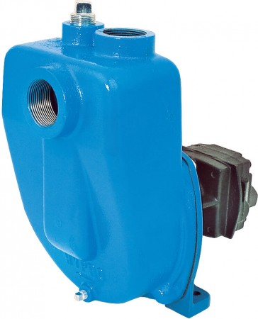 "Hydraulic Cast Iron Centrifugal Pump with 1-1/2"" NPT Inlet x 1-1/4"" NPT Outlet"
