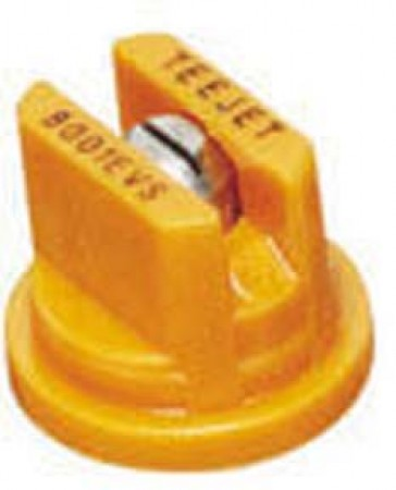 TeeJet Orange Acetal-Stainless Steel Even Flat Spray Tip Nozzle