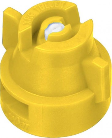 XRC TeeJet Yellow Acetal-Ceramic Extended Range Flat Spray Tip Nozzle