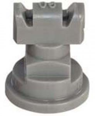 Turbo TwinJet Grey Acetal Polymer Twin Flat Spray Tip Nozzle