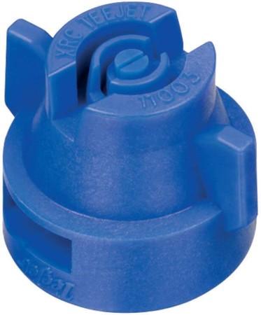 XRC TeeJet Blue Acetal Polymer Extended Range Flat Spray Tip Nozzle