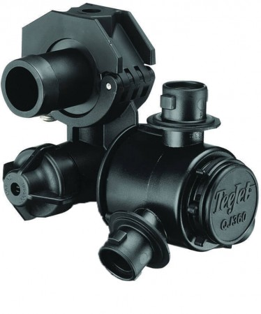"""1/2"""" Hose Barb 4 Outlet Multiple Nozzle Body Assembly for Dry Applications"""