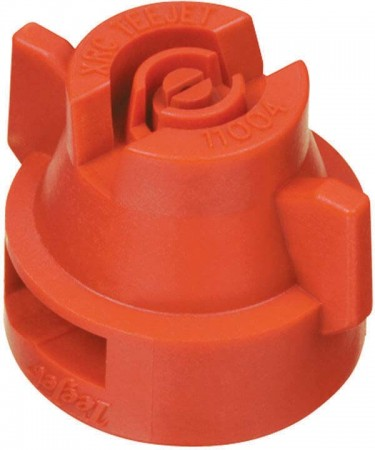 XRC TeeJet Red Acetal Polymer Extended Range Flat Spray Tip Nozzle