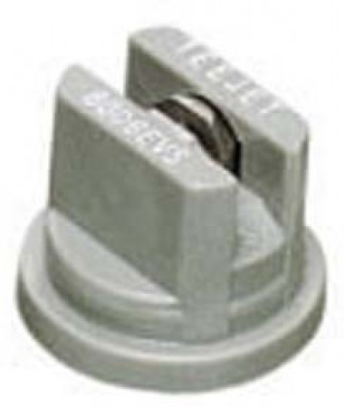 TeeJet Grey Acetal-Stainless Steel Even Flat Spray Tip Nozzle