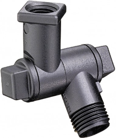 """1/4"""" FPT 1 Outlet Swivel Nozzle Body"""