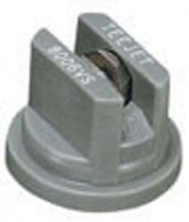 TeeJet Grey Acetal-Stainless Steel VisiFlo Flat Spray Tip Nozzle