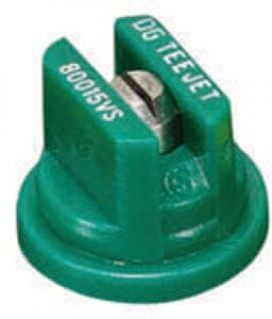 DG TeeJet Racing Green Acetal-Stainless Steel Drift Guard Flat Spray Tip Nozzle