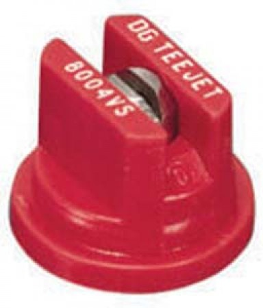 DG TeeJet Red Acetal-Stainless Steel Drift Guard Flat Spray Tip Nozzle