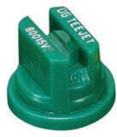 DG TeeJet Racing Green Acetal Polymer Drift Guard Flat Spray Tip Nozzle