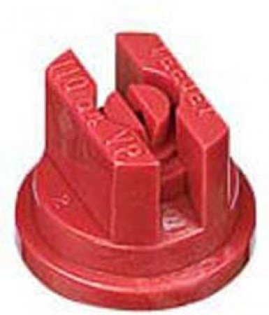 TeeJet Red Acetal Polymer VisiFlo Flat Spray Tip Nozzle
