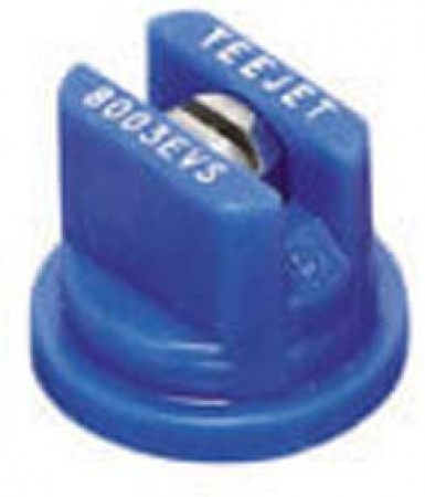 TeeJet Blue Acetal-Stainless Steel Even Flat Spray Tip Nozzle