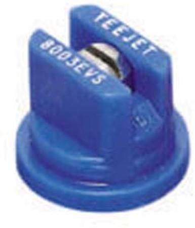 TeeJet Blue Acetal-Stainless Steel VisiFlo Flat Spray Tip Nozzle