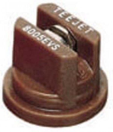 TeeJet Brown Acetal-Stainless Steel Even Flat Spray Tip Nozzle