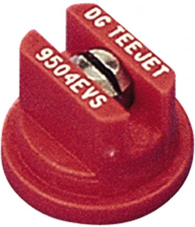DG TeeJet Red Acetal-Stainless Steel Drift Guard Even Flat Spray Tip Nozzle