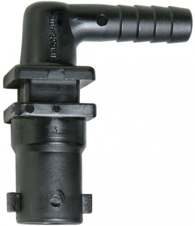 "3/8"" Hose Barb 1 Outlet QJ100 Single Nozzle Body for Dry Applications"