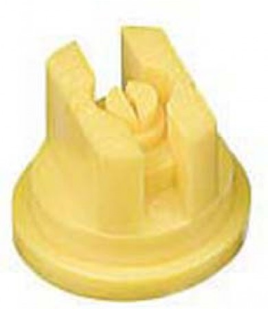 TeeJet Yellow Acetal Polymer VisiFlo Flat Spray Tip Nozzle