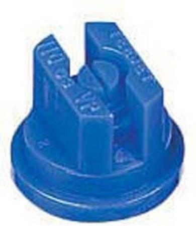 TeeJet Blue Acetal Polymer VisiFlo Flat Spray Tip Nozzle
