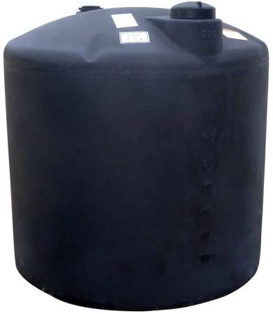 220 Gallon Plastic Water Storage Tank