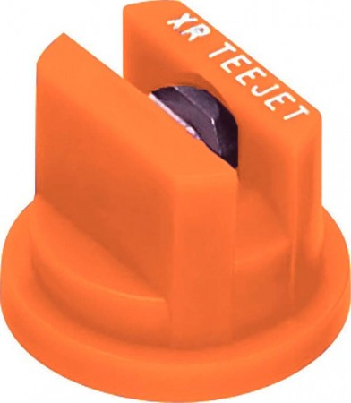 XR TeeJet Orange Acetal-Stainless Steel Extended Range Flat Spray Tip Nozzle