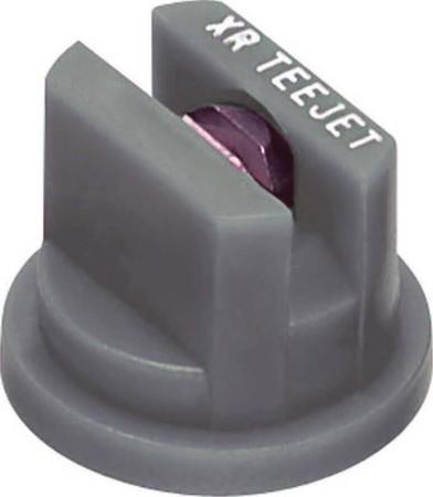 XR TeeJet Grey Acetal-Stainless Steel Extended Range Flat Spray Tip Nozzle