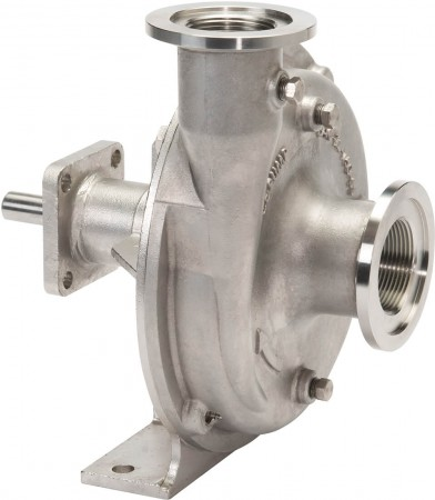 """Belt Driven 316 Stainless Steel Pump with 1-1/2"""" Suction x 1-1/4"""" Discharge"""