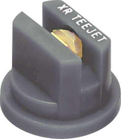 XR TeeJet Grey Acetal-Brass Extended Range Flat Spray Tip Nozzle
