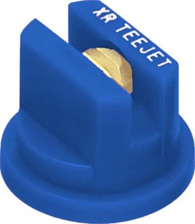 XR TeeJet Blue Acetal-Brass Extended Range Flat Spray Tip Nozzle