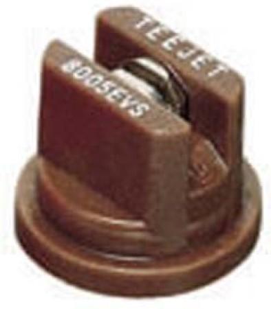 TeeJet Brown Acetal-Stainless Steel VisiFlo Flat Spray Tip Nozzle