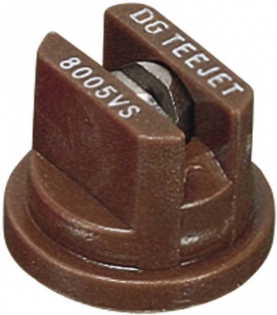 DG TeeJet Brown Acetal-Stainless Steel Drift Guard Flat Spray Tip Nozzle