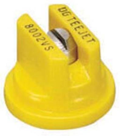 DG TeeJet Yellow Acetal-Stainless Steel Drift Guard Flat Spray Tip Nozzle