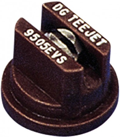 DG TeeJet Brown Acetal-Stainless Steel Drift Guard Even Flat Spray Tip Nozzle