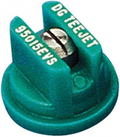 DG TeeJet Racing Green Acetal-Stainless Steel Drift Guard Even Flat Spray Tip Nozzle