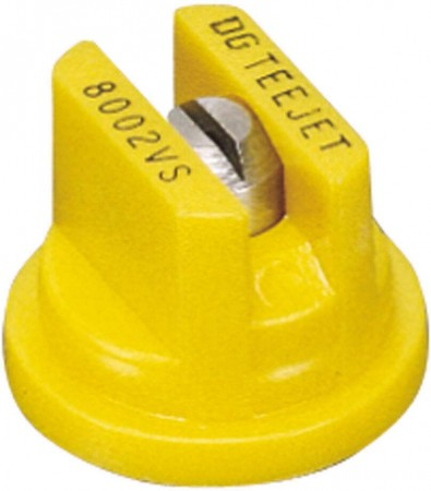 DG TeeJet Yellow Acetal-Stainless Steel Drift Guard Flat Spray Tip Nozzle