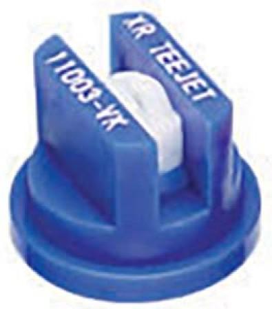 XR TeeJet Blue Acetal-Ceramic Extended Range Flat Spray Tip Nozzle
